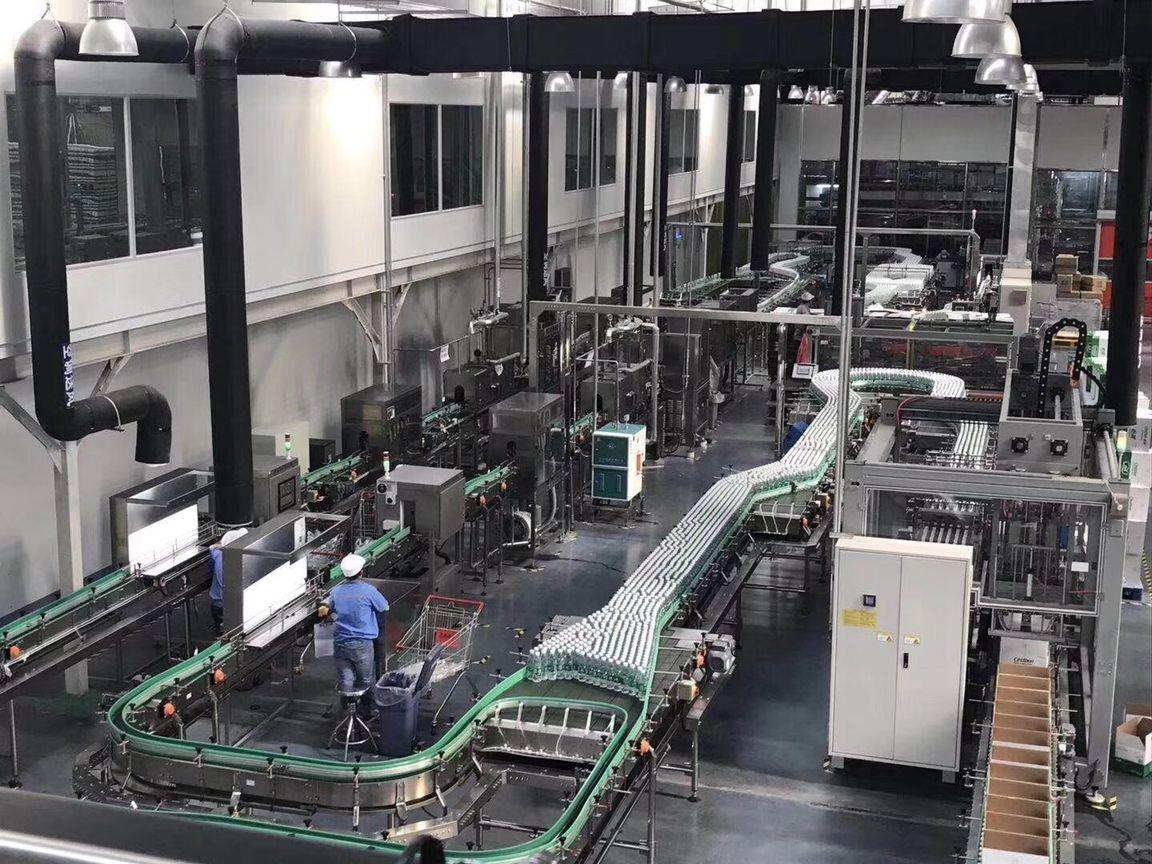 water bottle factory
