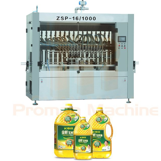 16 Head Oil Filling Machine