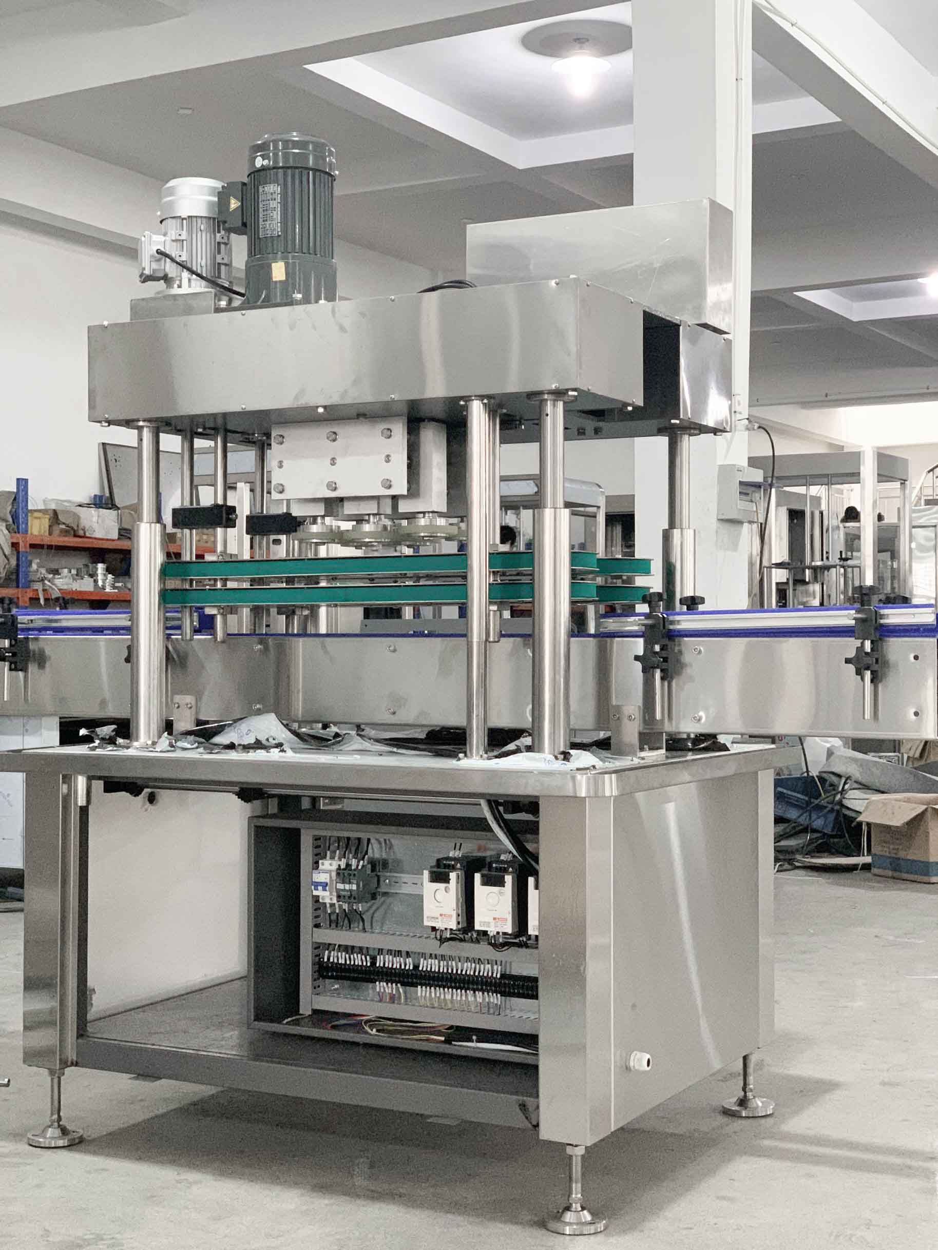 【2020 September 9】Another batch of washing gel filling equipment has been manufactured