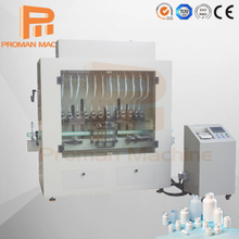 Sterilizing and Disinfecting Liquid Linear Bottle Filling Machine